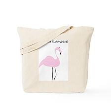 Funky Flamingo Tote Bag