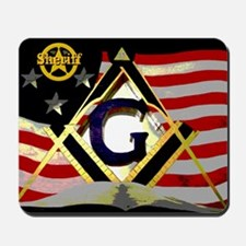 Sheriff Masonic Mousepad