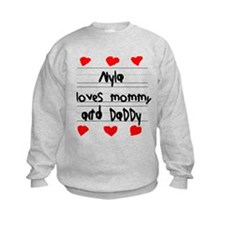 Nyla Loves Mommy and Daddy Jumpers