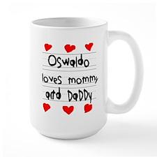Oswaldo Loves Mommy and Daddy Mug