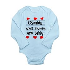 Oswaldo Loves Mommy and Daddy Long Sleeve Infant B