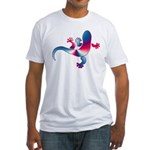 Cool Gecko 4 Fitted T-Shirt