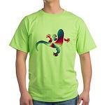 Cool Gecko 4 Green T-Shirt