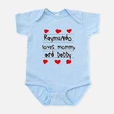 Raymundo Loves Mommy and Daddy Infant Bodysuit
