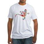 Cool Gecko 5 Fitted T-Shirt