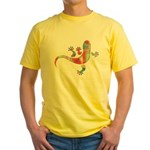 Cool Gecko 5 Yellow T-Shirt