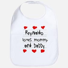 Reynaldo Loves Mommy and Daddy Bib