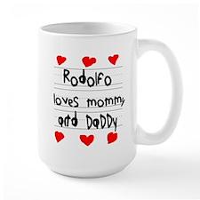 Rodolfo Loves Mommy and Daddy Mug
