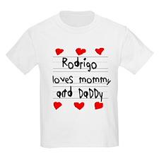 Rodrigo Loves Mommy and Daddy T-Shirt