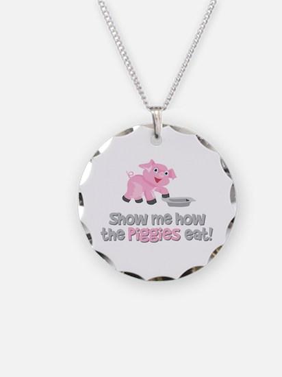 Piggies [A Christmas Story] Necklace