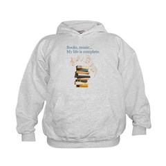 Books and music Hoodie