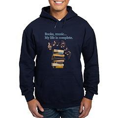 Books and music Hoodie
