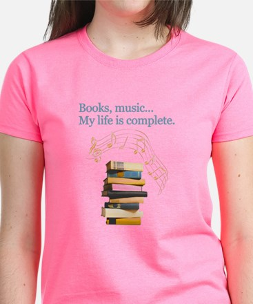 Books and music Tee