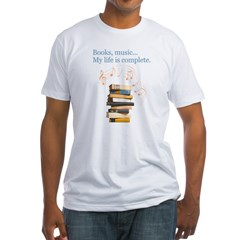 Books and music Shirt
