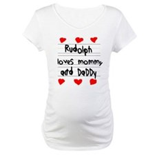 Rudolph Loves Mommy and Daddy Shirt