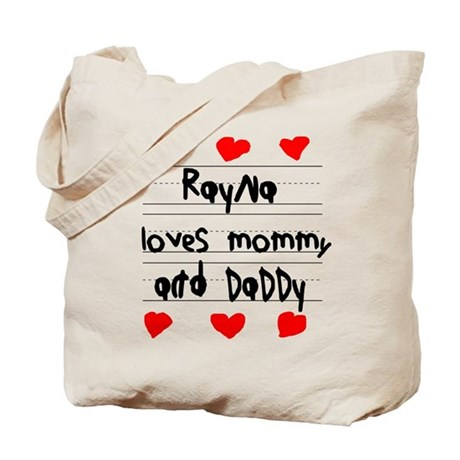 Rayna Loves Mommy and Daddy Tote Bag