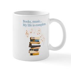 Books and music Mug
