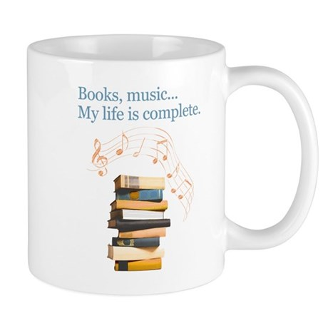 Books and music Mug