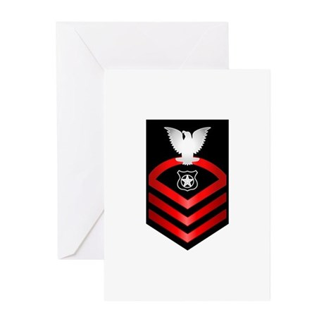 Navy Chief Master at Arms Greeting Cards (Pk of 20