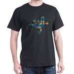 Cool Gecko 8 Dark T-Shirt