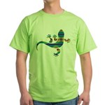 Cool Gecko 8 Green T-Shirt