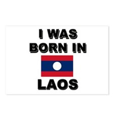 I Was Born In Laos Postcards (Package of 8)