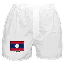 Laos Flag Stuff Boxer Shorts