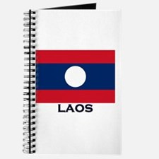 Laos Flag Stuff Journal