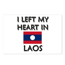 I Left My Heart In Laos Postcards (Package of 8)