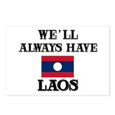 We Will Always Have Laos Postcards (Package of 8)