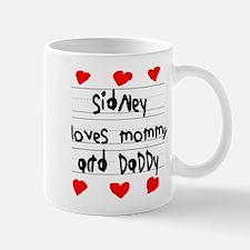 Sidney Loves Mommy and Daddy Mug