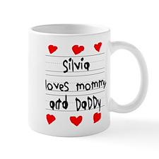 Silvia Loves Mommy and Daddy Mug