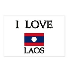 I Love Laos Postcards (Package of 8)