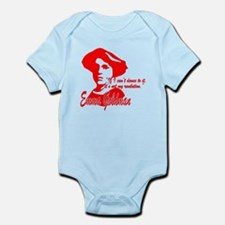 Emma Goldman With Quote Infant Bodysuit