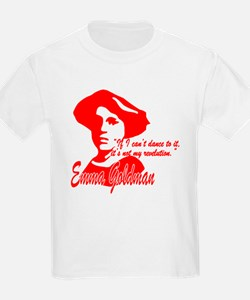 Emma Goldman With Quote T-Shirt