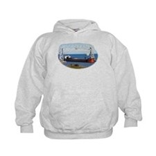 Mesabi Miner under Duluth Aerial LIft Bridge Hoodie