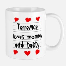 Terrence Loves Mommy and Daddy Mug