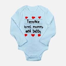 Terrence Loves Mommy and Daddy Long Sleeve Infant