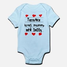 Terrence Loves Mommy and Daddy Infant Bodysuit