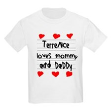Terrence Loves Mommy and Daddy T-Shirt