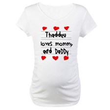 Thaddeu Loves Mommy and Daddy Shirt