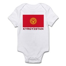 Flag of Kyrgyzstan Infant Bodysuit