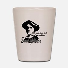 Emma Goldman with Quote Shot Glass