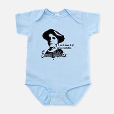Emma Goldman with Quote Infant Bodysuit