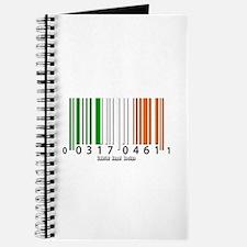 Barcode Irish Flag Journal