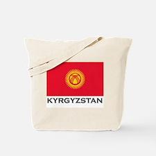 Kyrgyzstan Flag Stuff Tote Bag