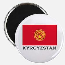 Kyrgyzstan Flag Stuff Magnet