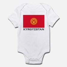 Kyrgyzstan Flag Stuff Infant Bodysuit