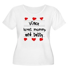 Vince Loves Mommy and Daddy T-Shirt