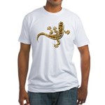Cool Gecko 9 Fitted T-Shirt